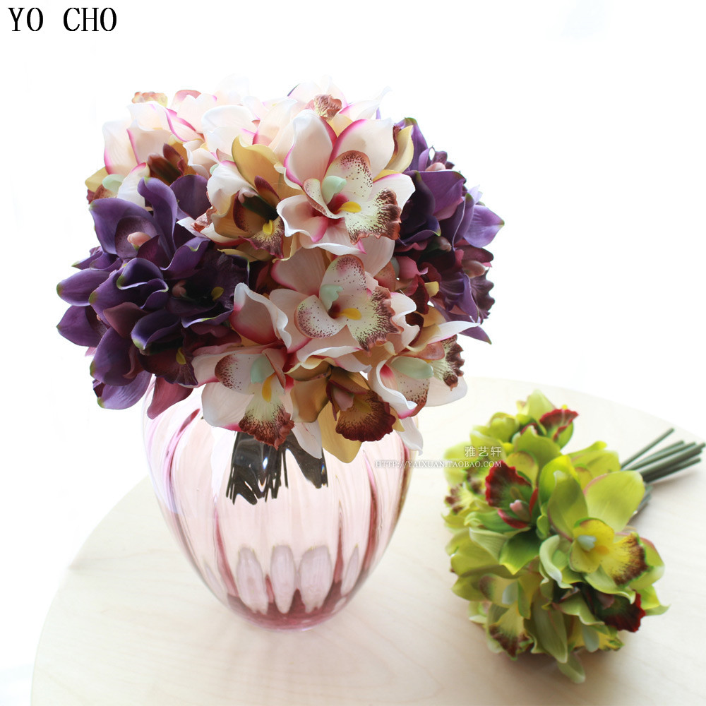 Best Free Shipping 7 Flower Heads Piece Artificial Flowers This Month