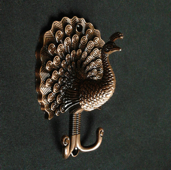 Best Peacock Decorative Wall Hook Metal Wall Hooks Antique This Month