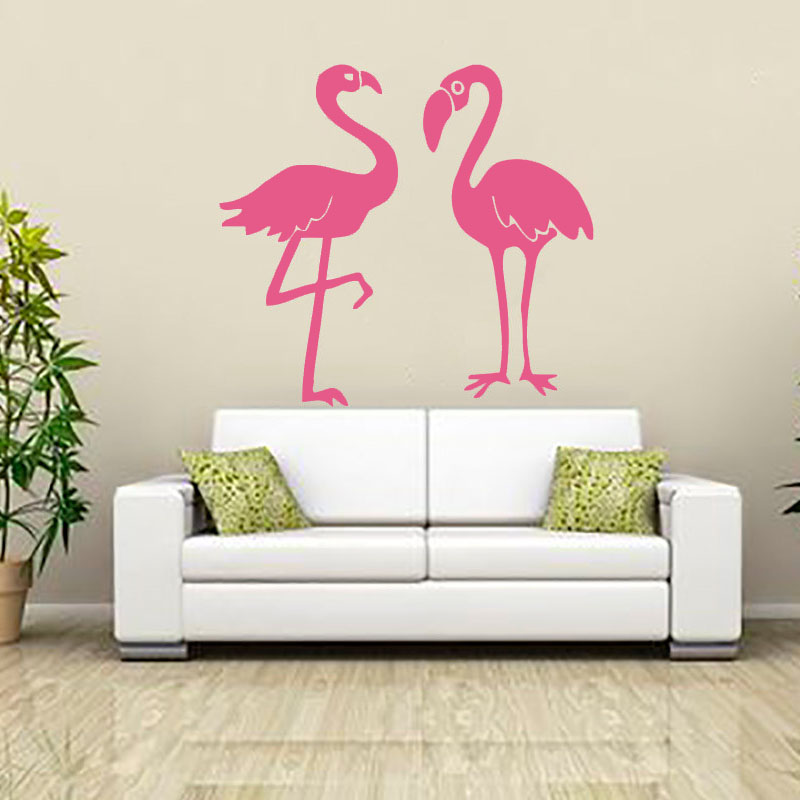 Best Flamingo Wall Sticker Vinyl Adhesive Home Decor Living This Month