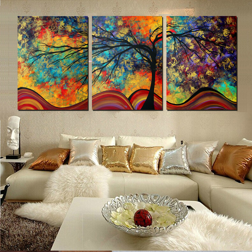 Best Aliexpress Com Buy Large Wall Art Home Decor Abstract This Month