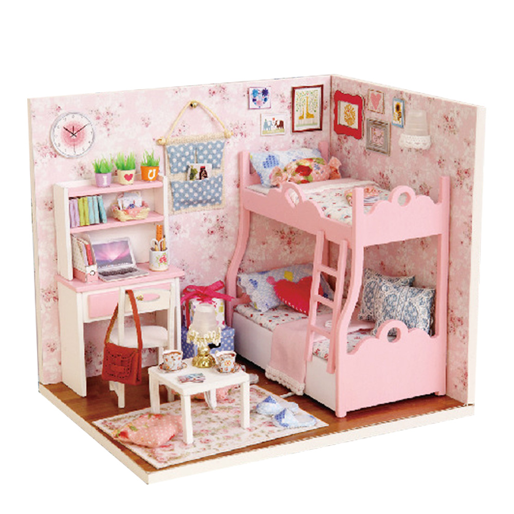 Best Realistic Handmade Mini Doll House 3D Miniature Dollhouse This Month
