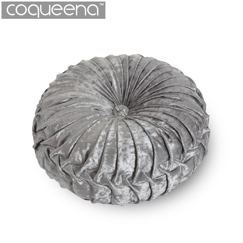 Best Velvet Filled Round Cushions Chair Pad Bolster Futon This Month