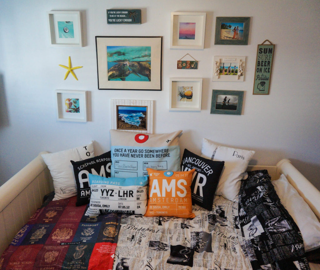 Best Travel Décor My Travel Inspired Room Airplanes Avocados This Month