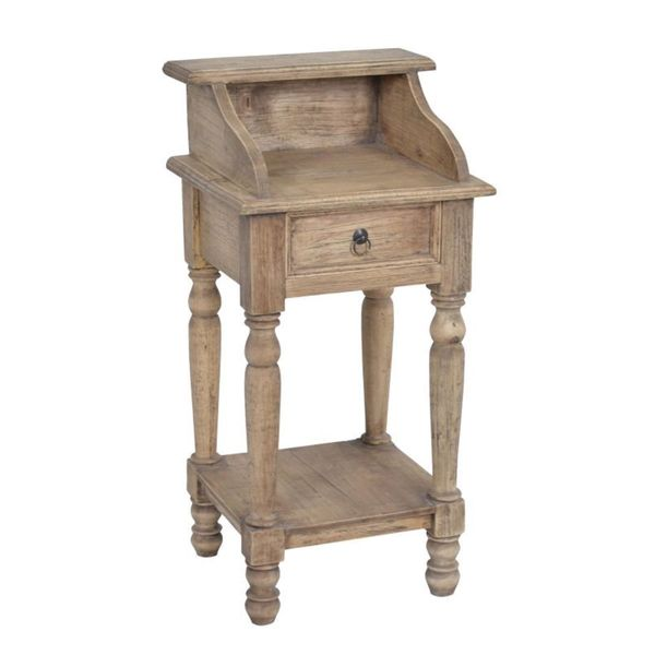 Best Decorative Lyons Rustic Brown Specialty Accent Table This Month