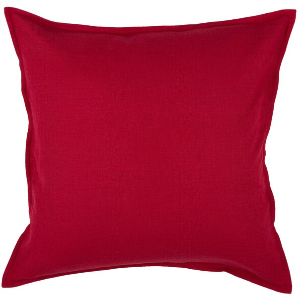 Best Shop Rizzy Home Cotton Solid 20 Inch Throw Pillow On This Month