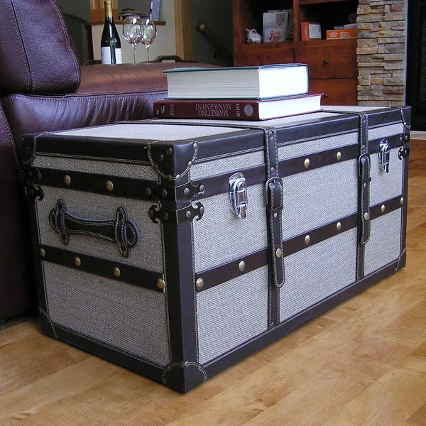 Best Shop Decorative Vienna Medium Wooden Steamer Trunk On This Month