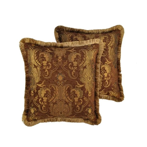 Best Shop Sherry Kline China Art Brown 20 Inch Decorative Throw This Month