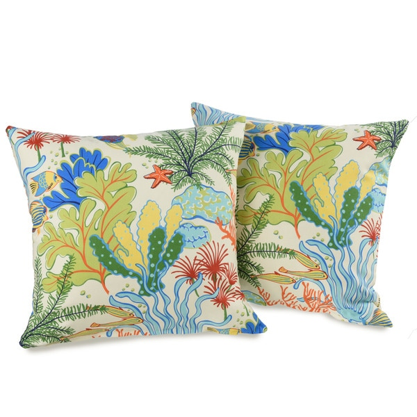 Best Shop Island Breeze 20 Inch Decorative Throw Pillows Set This Month