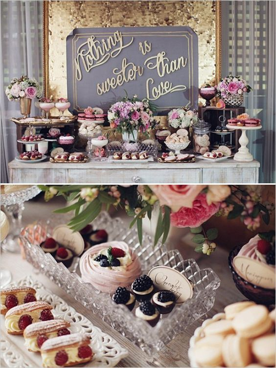 Best Wedding Dessert Table Ideas That Will Bl*W Your Mind This Month