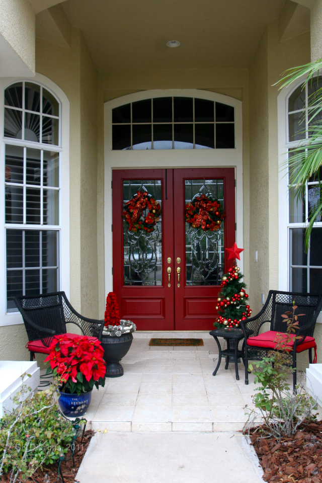 Best Christmas Decor For The Front Door Doors By Design This Month
