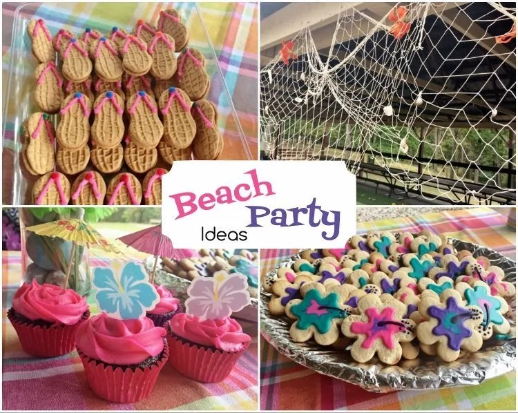 Best Beach Party Birthday Diy Inspired This Month