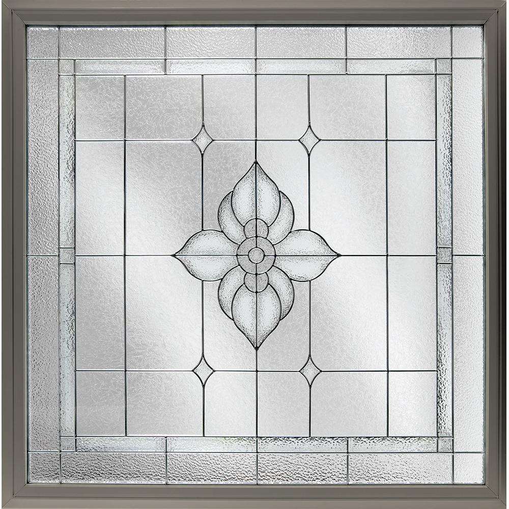 Best Hy Lite 47 5 In X 47 5 In Decorative Glass Fixed Vinyl This Month