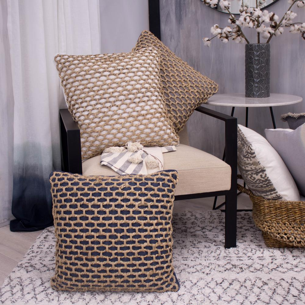 Best Jada White Decorative Pillow Ymo006946 The Home Depot This Month