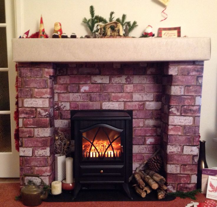 Best 25 Cardboard Fireplace Ideas On Pinterest This Month