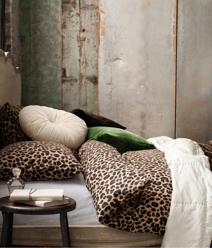 Best 25 Leopard Print Bedding Ideas On Pinterest This Month