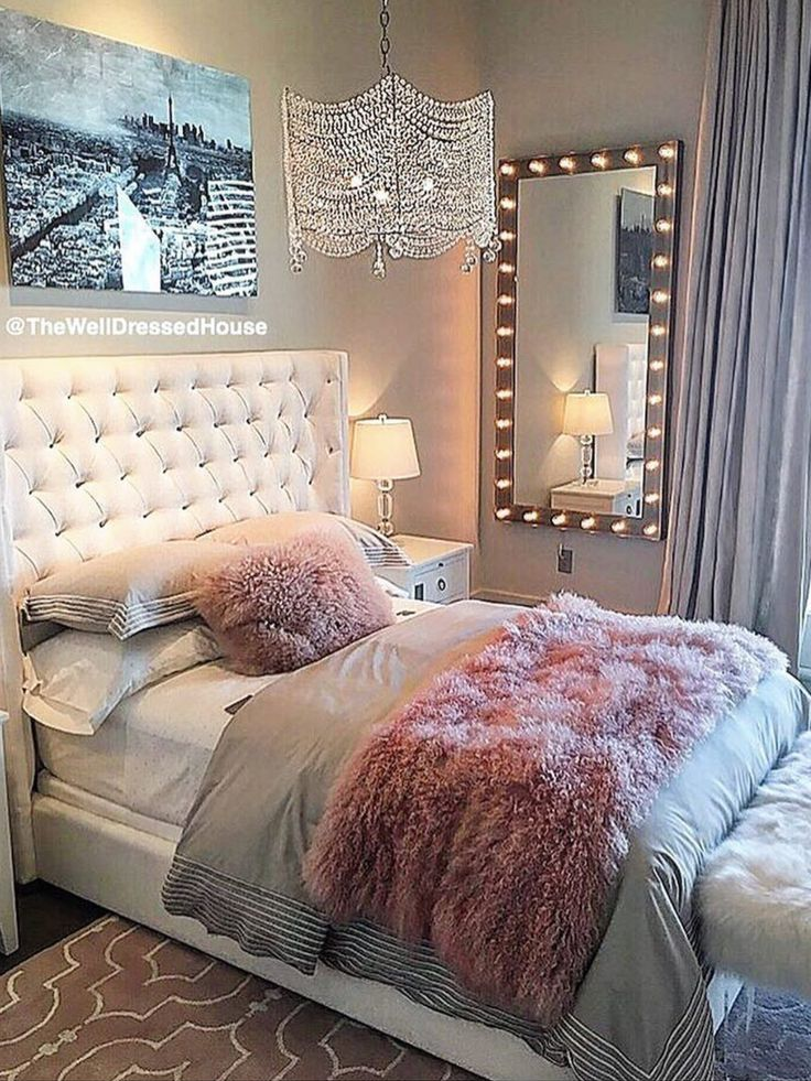 Best 25 Pink Grey Bedrooms Ideas On Pinterest Pink And This Month