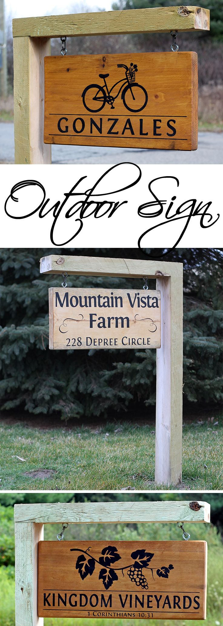 Best 25 Home Address Signs Ideas On Pinterest Address This Month
