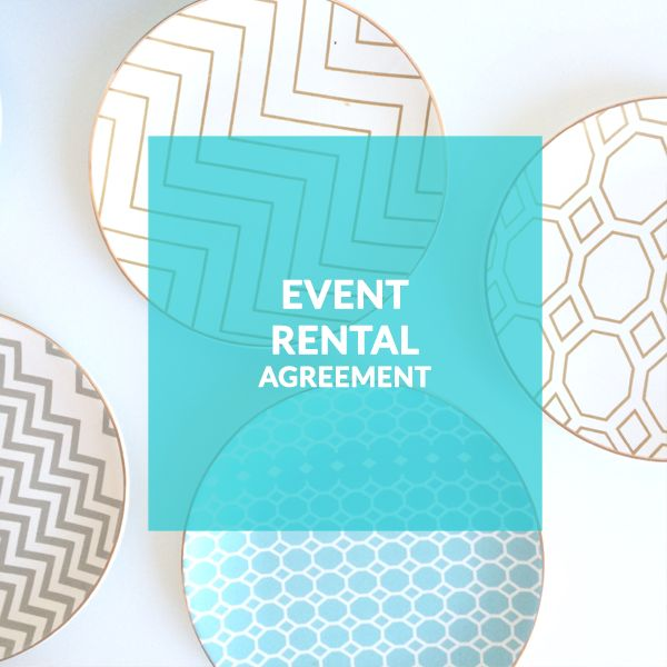 Best Event Rentals Template Contract Rental Company Wedding This Month