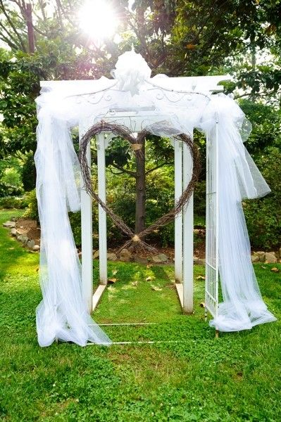 Best A Heart Shaped Arch Wedding Altar I Orangerie Events I This Month