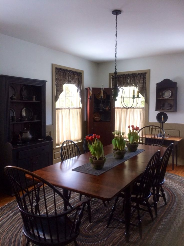 Best 25 Primitive Dining Rooms Ideas On Pinterest This Month