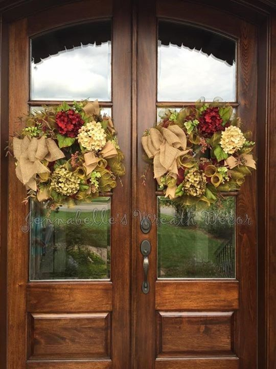 Best 25 Double Door Wreaths Ideas On Pinterest Wood This Month