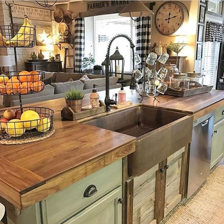 Best 25 Country Kitchen Decorating Ideas On Pinterest This Month