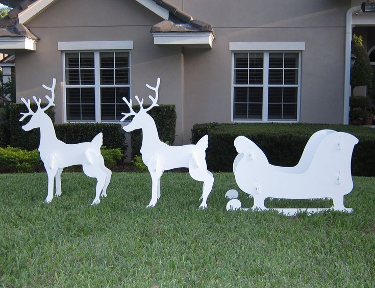 Best 13 Best Reindeer Outdoor Christmas Decorations Images On This Month
