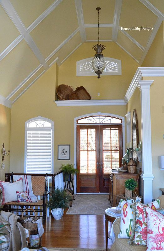 Best How I Styled A 12 Foot High Ledge Foyer High Ceiling This Month