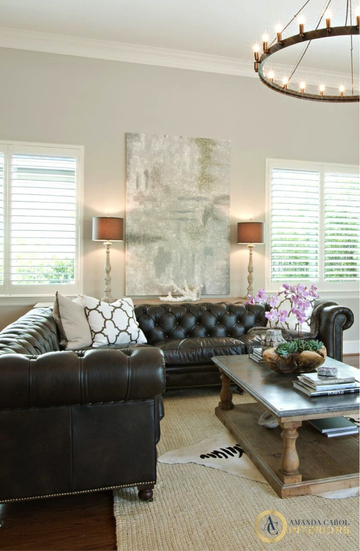 Best 25 Black Leather Couches Ideas On Pinterest Living This Month