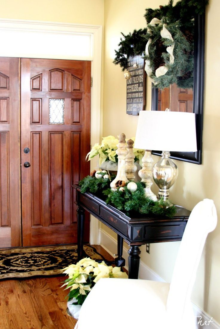 Best 25 Christmas Entryway Ideas On Pinterest Christmas This Month