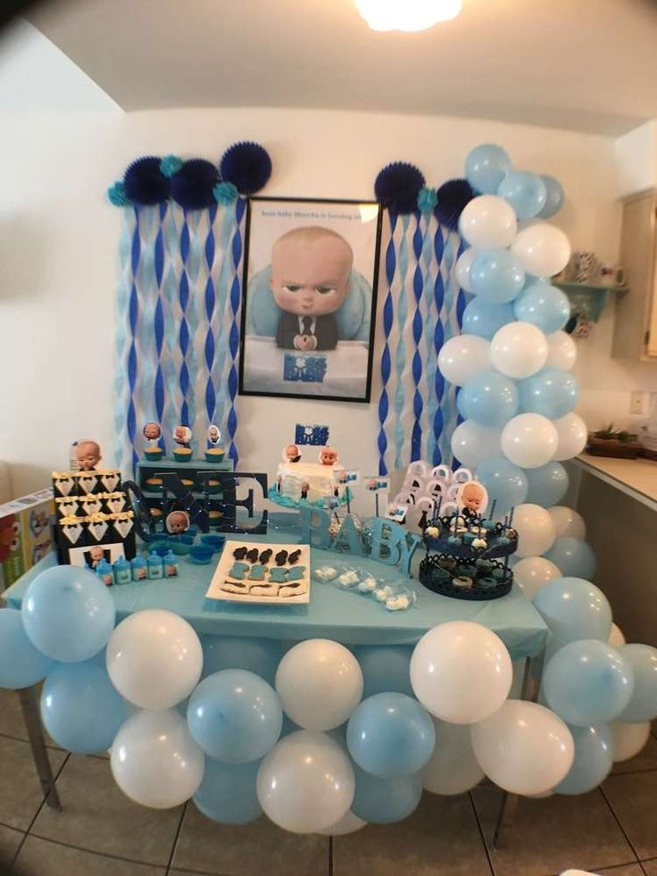 Best Boss Baby Birthday Party Ideas In 2019 Zo 1St Birthday This Month