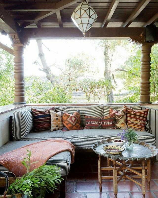Best 25 Bohemian Patio Ideas On Pinterest Bohemian This Month