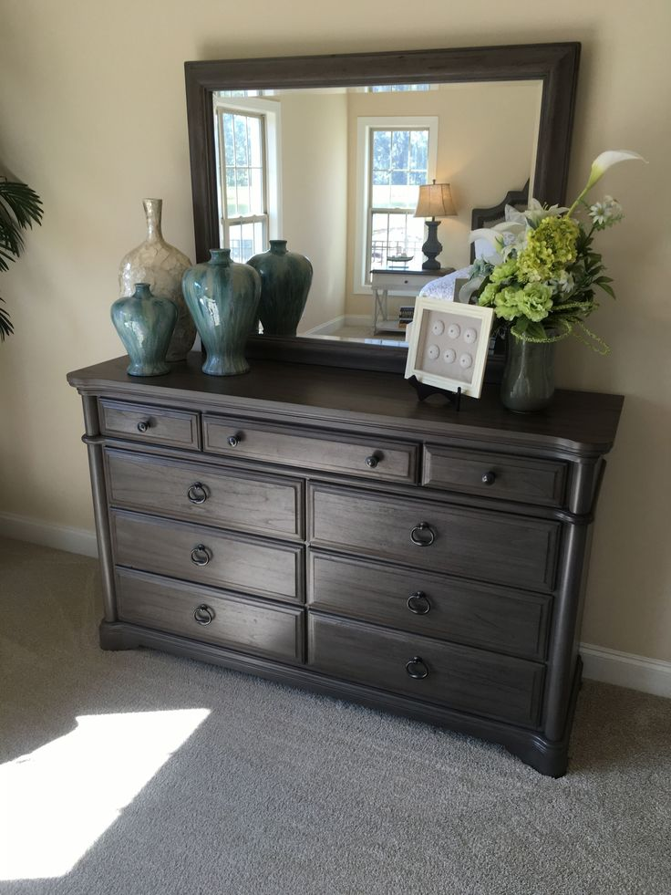 Best How To Stage A Bedroom Dresser With Vases Urns Frames This Month