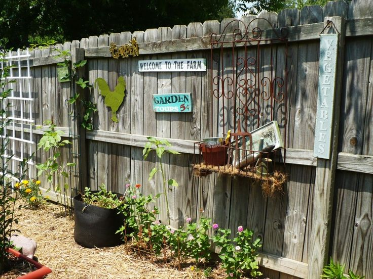 Best 25 Fence Decorations Ideas On Pinterest Yard This Month