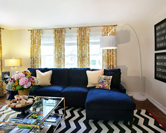 Best 15 Lovely Living Room Designs With Blue Accents This Month