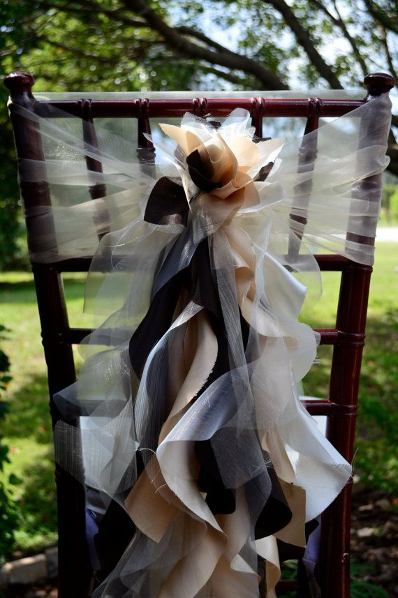 Best 25 Wedding Chair Sashes Ideas On Pinterest Chair This Month