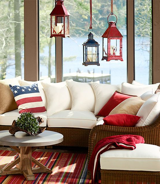 Best 233 Best Red White And Blue Decorating Images On Pinterest This Month