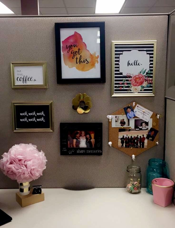 Best 23 Ingenious Cubicle Decor Ideas To Transform Your This Month