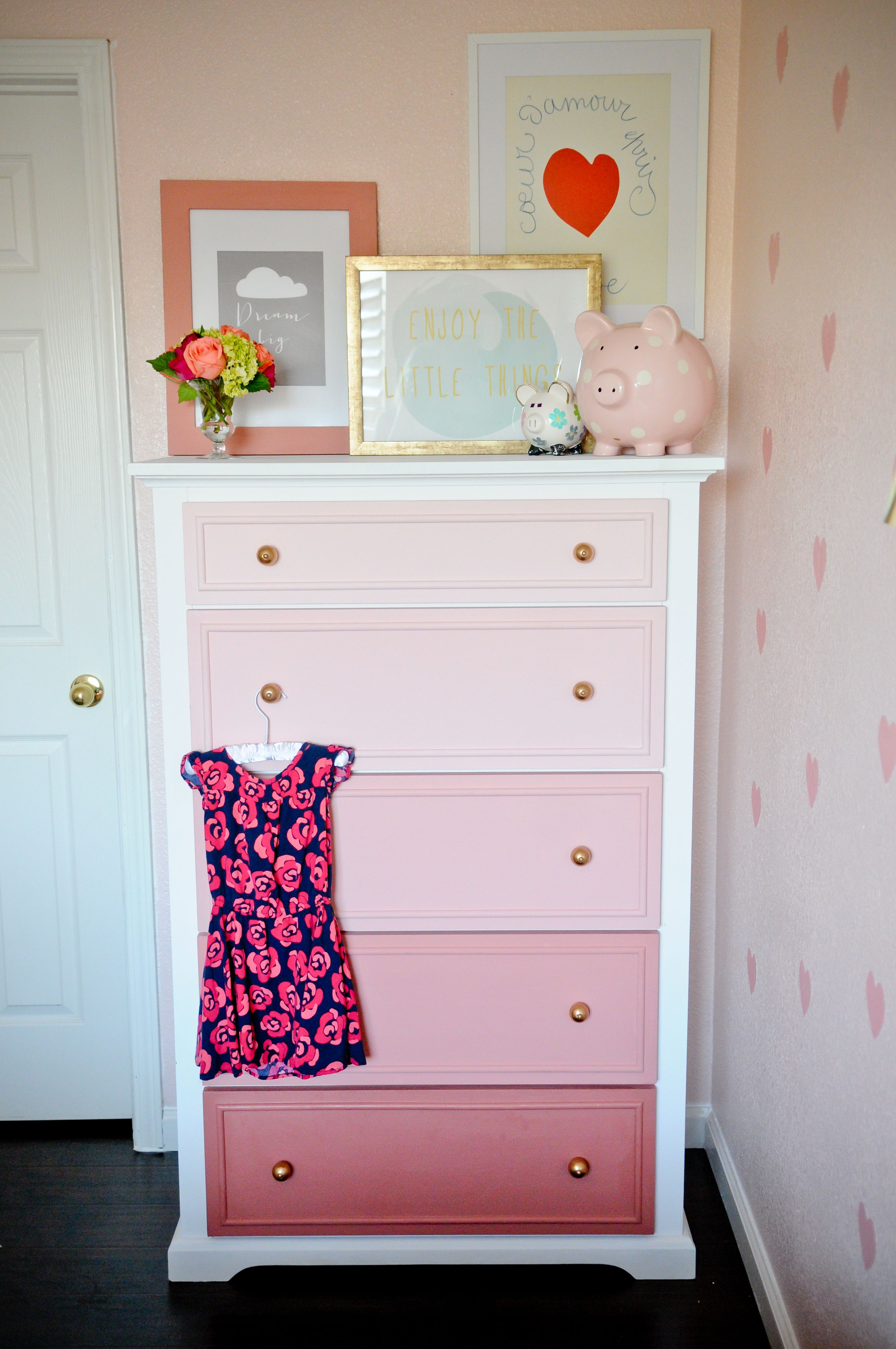 Best Diy Ombre Dresser Tutorial Painted Furniture Ideas This Month