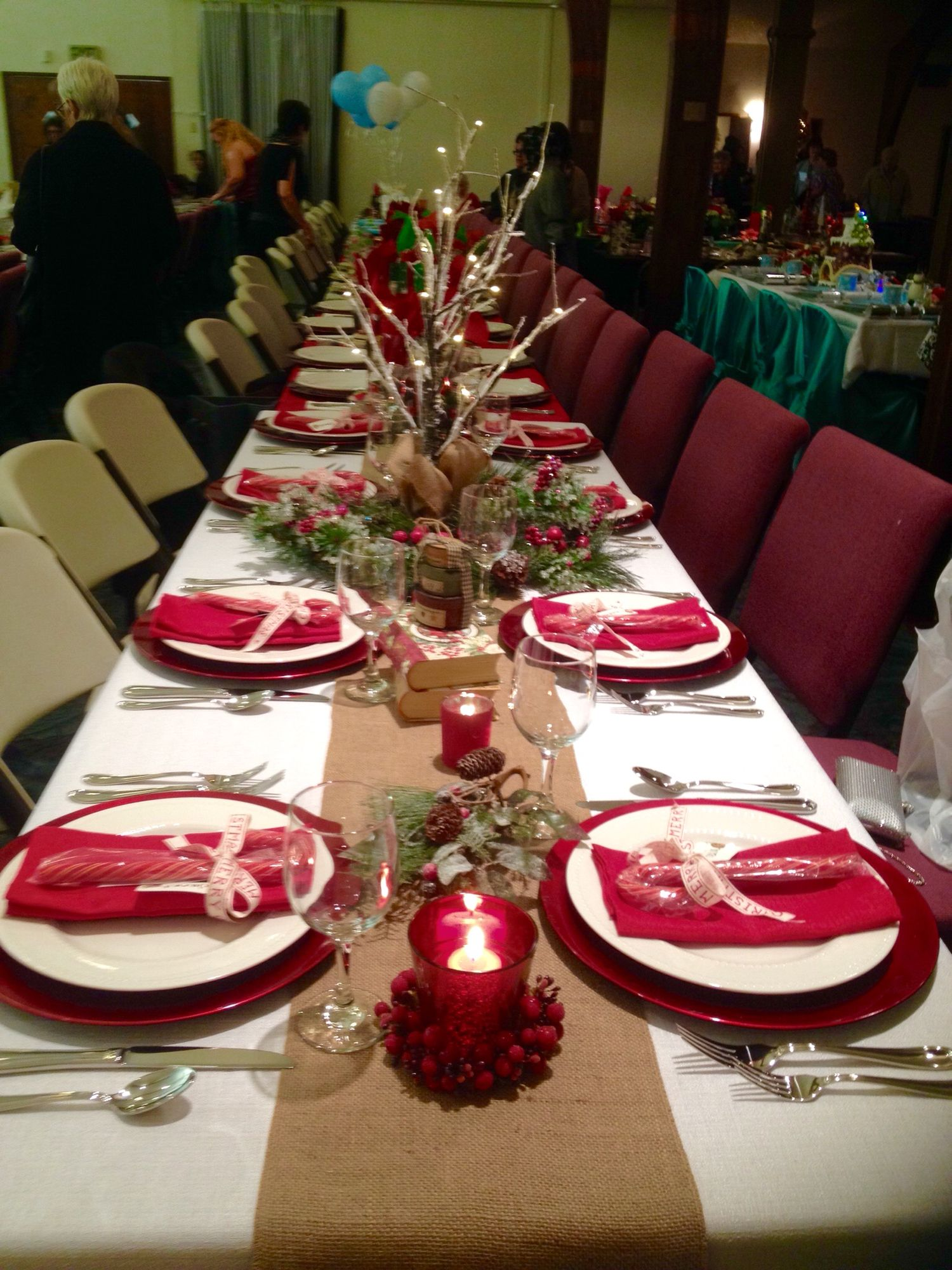 Best Christmas Banquet Table Decorations Christmas This Month