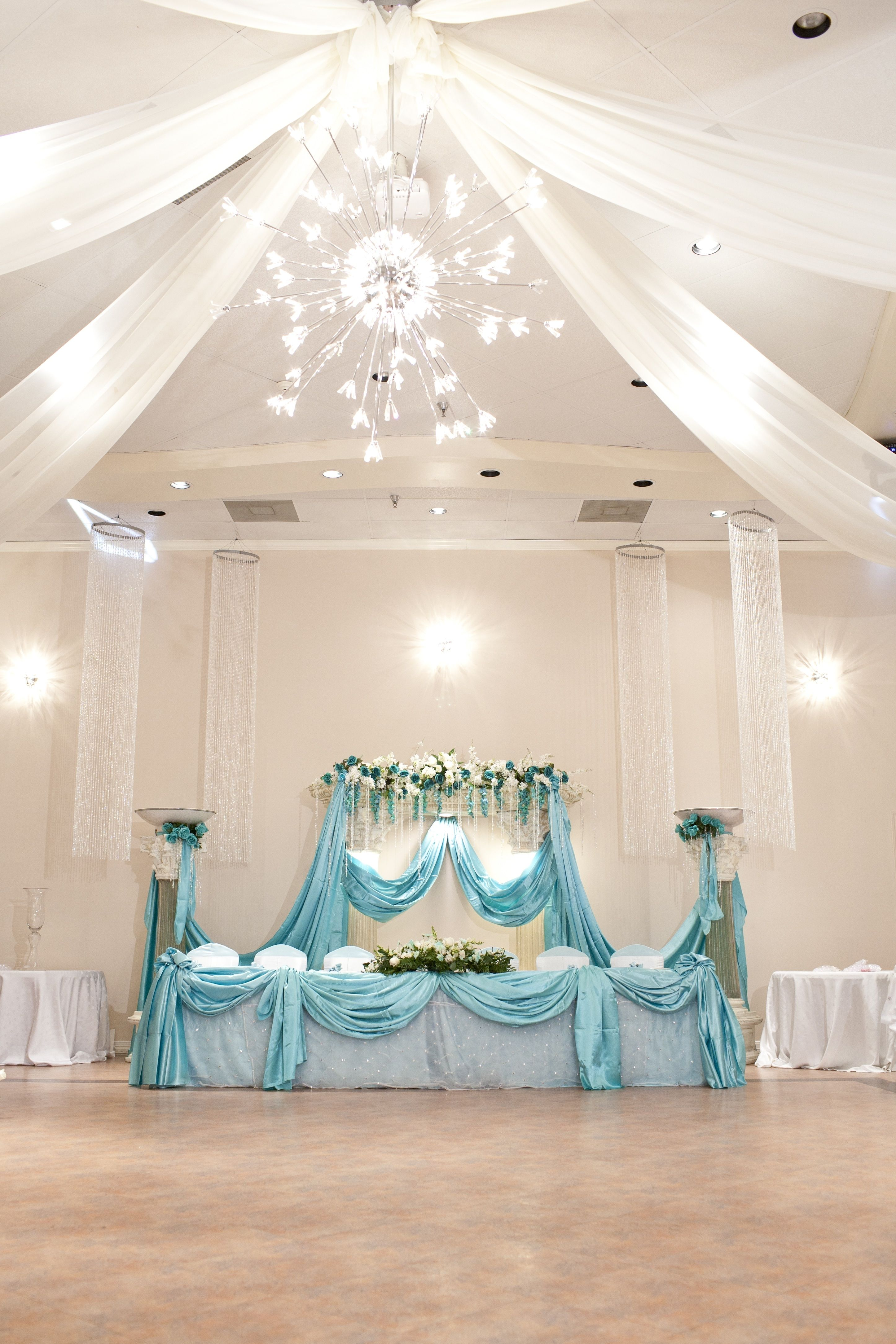 Best Tiffany Blue Quincenera Reception Demers Banquet Hall This Month