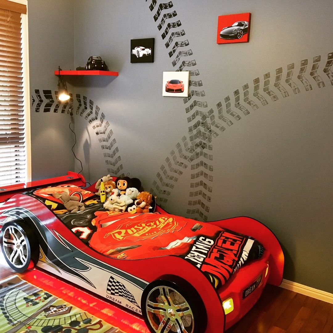 Best Racing Theme Room For Our 3 Year Old Boy Room Bedroom This Month