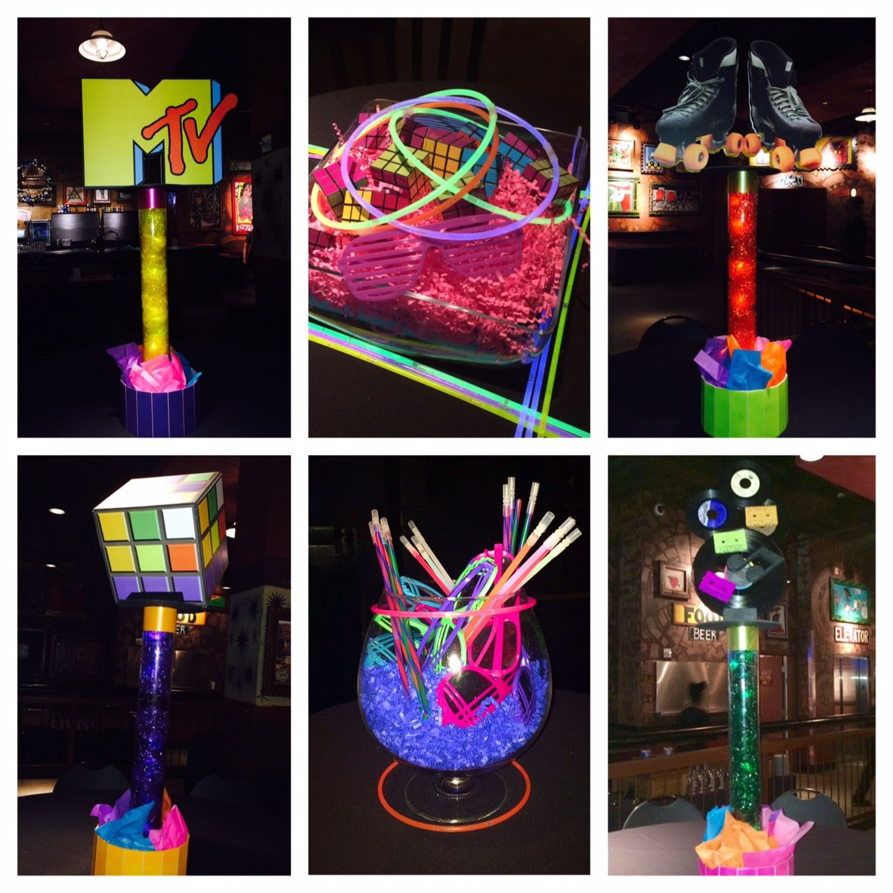 Best 80 S Party Centerpieces Ideal Party Decorators Ipd This Month