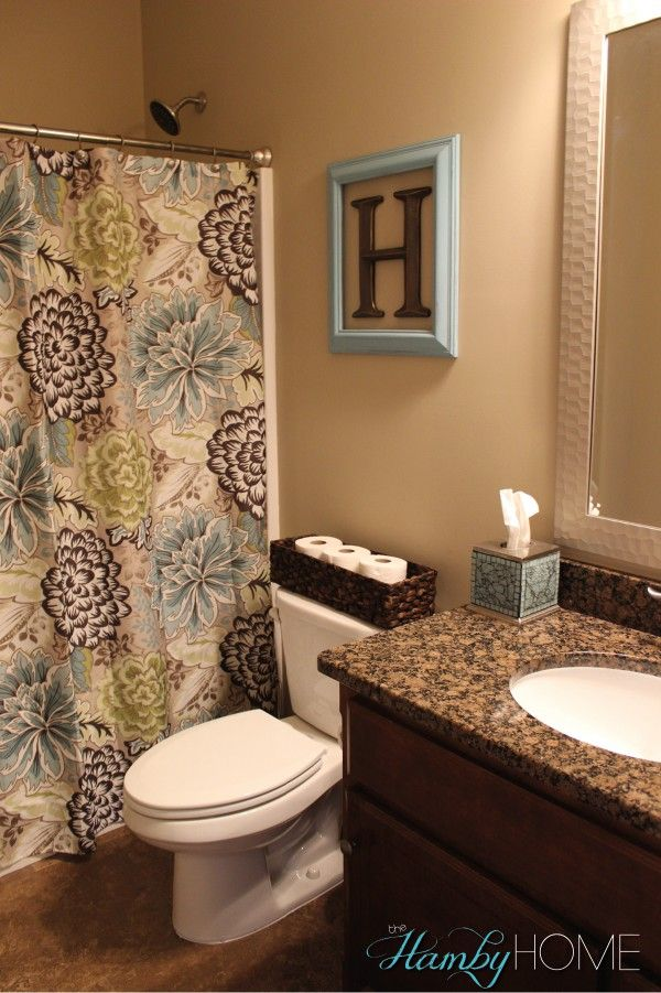 Best Bathroom Decor Home Tour All Things Home Guest This Month