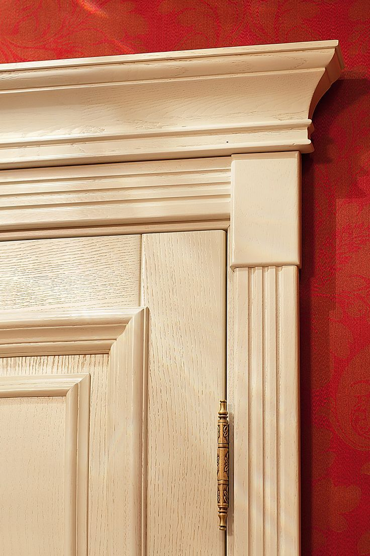 Best An Oakwood Door With Decorative Mouldings And A Capital This Month