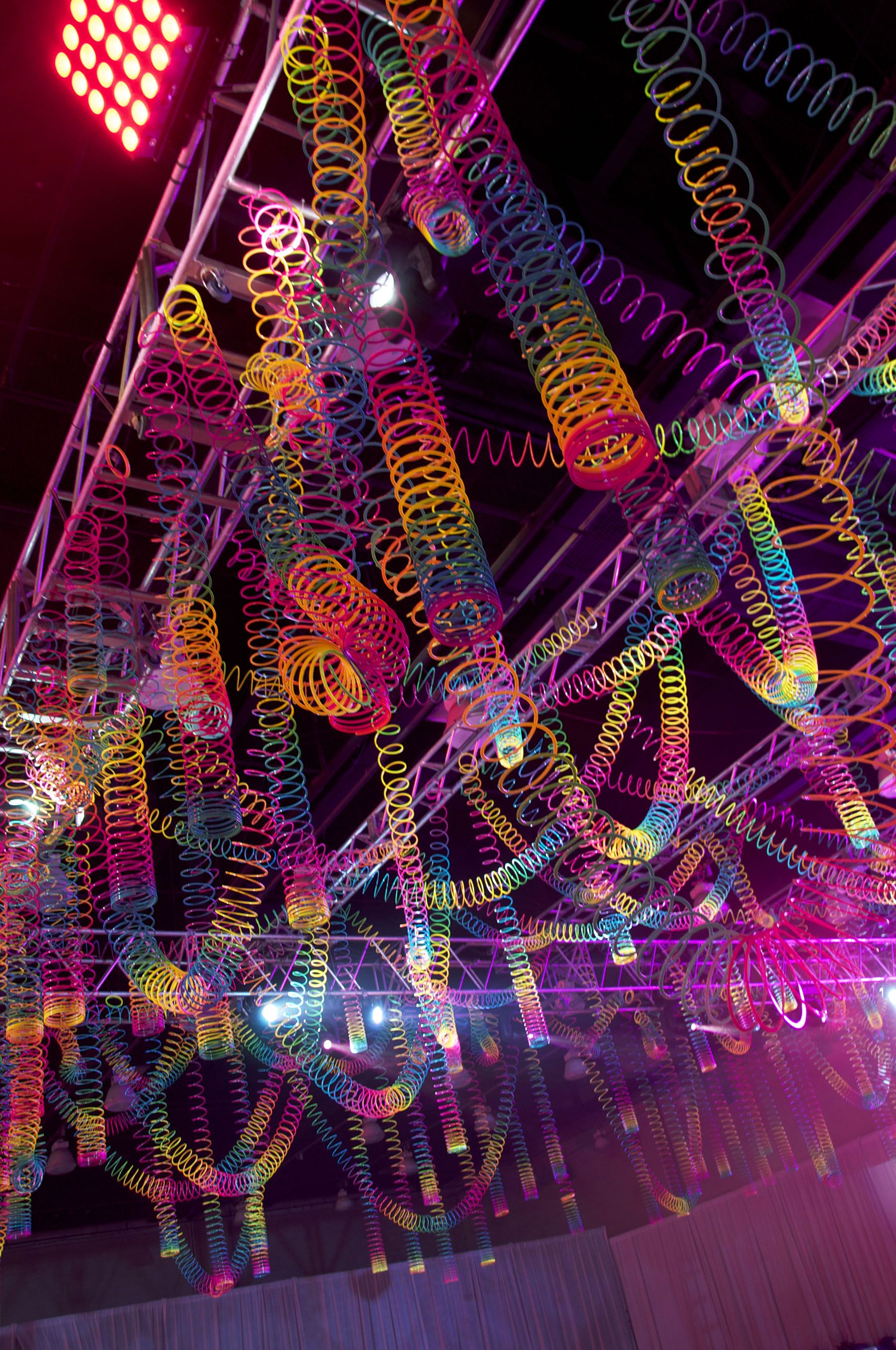 Best Rainbow Slinky Ceiling Rave Inspiration Pinterest This Month