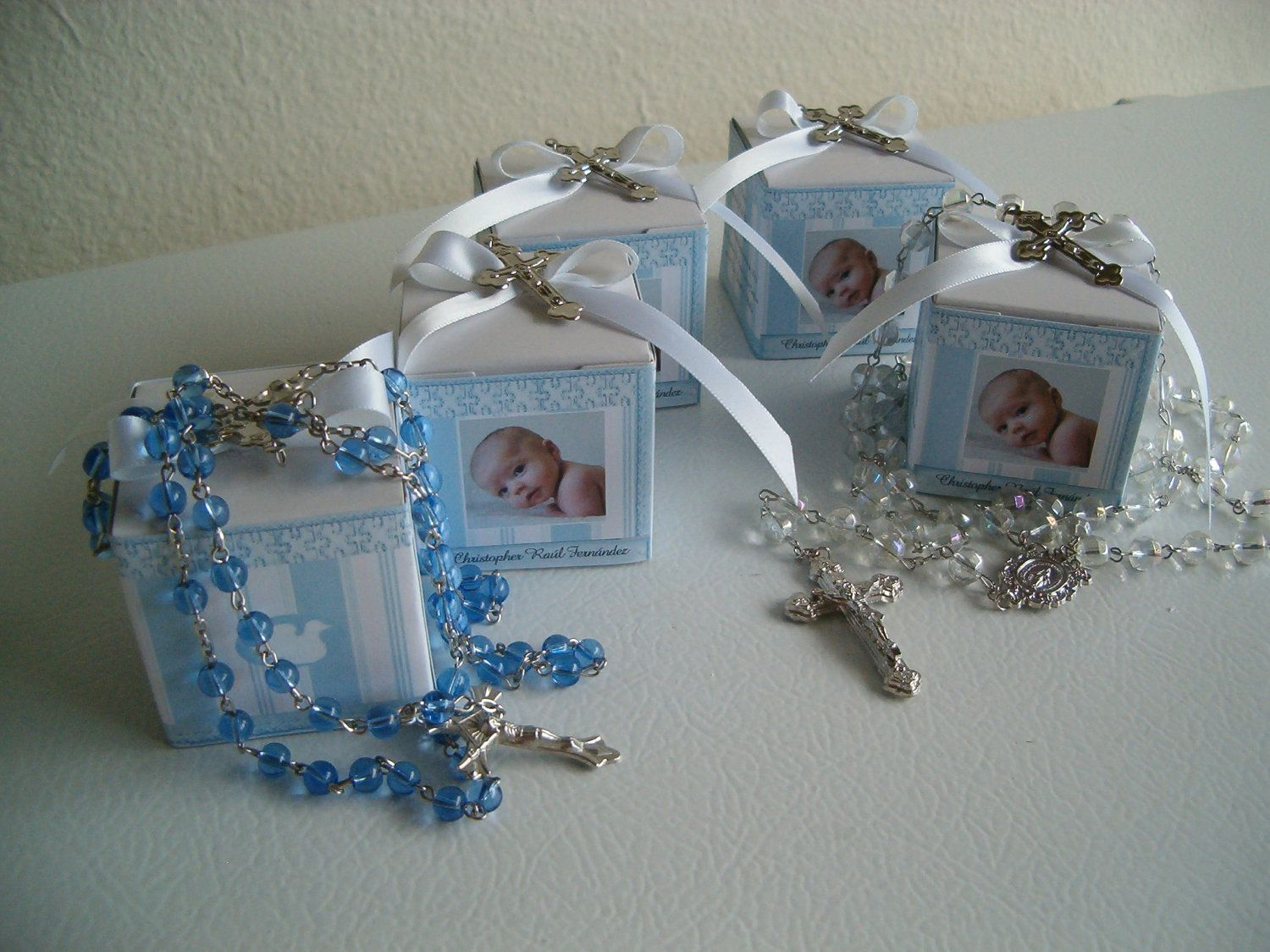 Best 10 Baptism Rosary Favor Boxes Personalized Party Ideas This Month