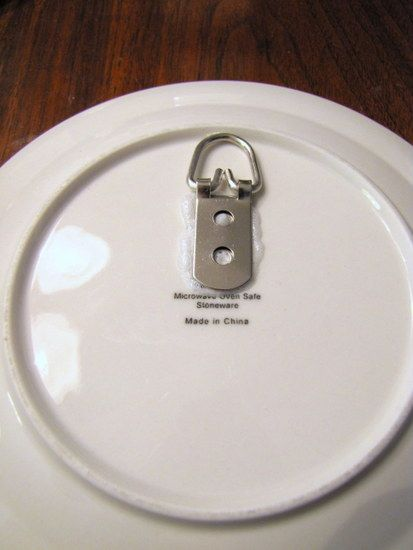 Best How To Hang Plate With Wall Hanger Craft Ideas Plates This Month