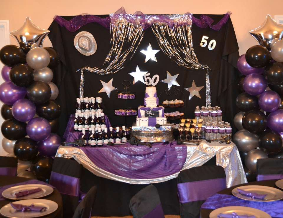 Best Purple Rain 50Th Birthday Bash Decor 50Th Birthday This Month