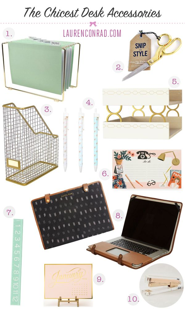 Best Tuesday Ten The Chicest Desk Decor Decorate Home This Month